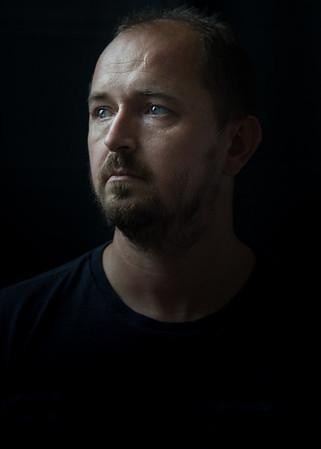 Self Portrait in Dark