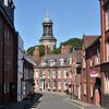 Cross Hill and St Chads church, Shrewsbury.