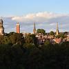 Town view from Shrewsbury School.