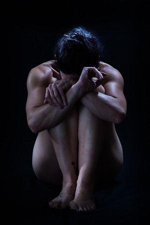 Crouched Woman