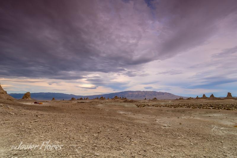 Lonely Trona Desert