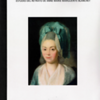 """The cover page of a calligraphic study which analyzed five """"Goya"""" signatures integrated into the painting and a more defined signature and date located in the lower corner of the painting. The complete """"Goya"""" signatures were located on Marie Blanchet's neck, left cheek, right & left shoulder and in the corner of her upper lip."""
