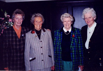 Dorothea, Kathleen, Jean and Anne 1995