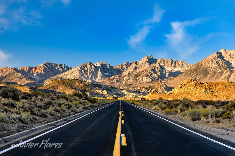 Sunrise Road Shot