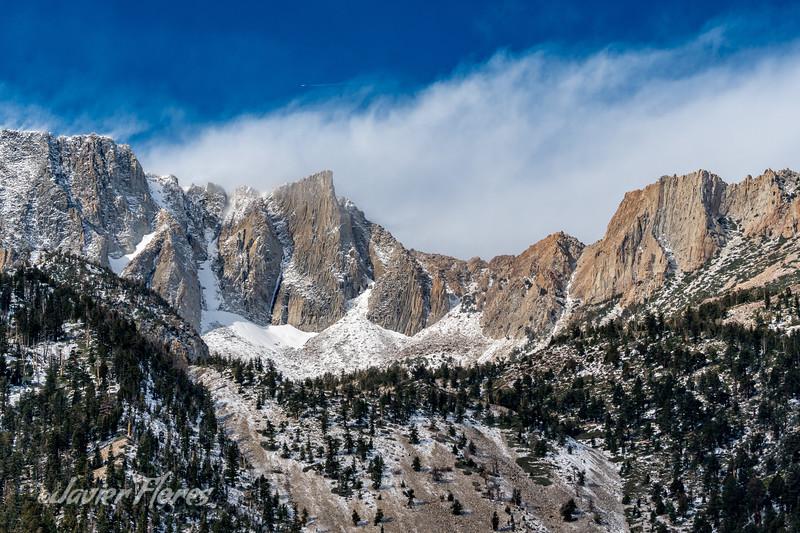 Tioga pass mountains