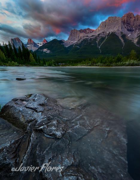 Three Sisters, South Banff Range