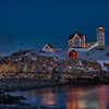 New Year Super Moon at Nubble.