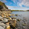 Rocky Milky Shoreline