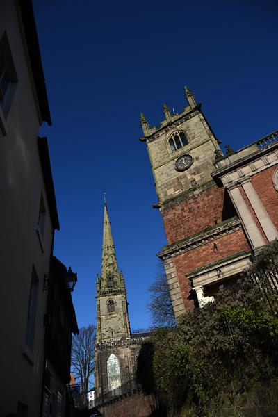 St. Alkmunds and St. Julians churches, Shrewsbury