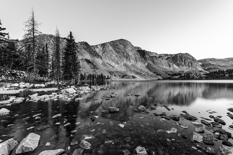 Day 2 of B&W Challenge:  Lake Marie