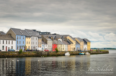 Colorful Claddagh Houses