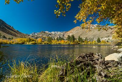 Intake Lake II during the fall