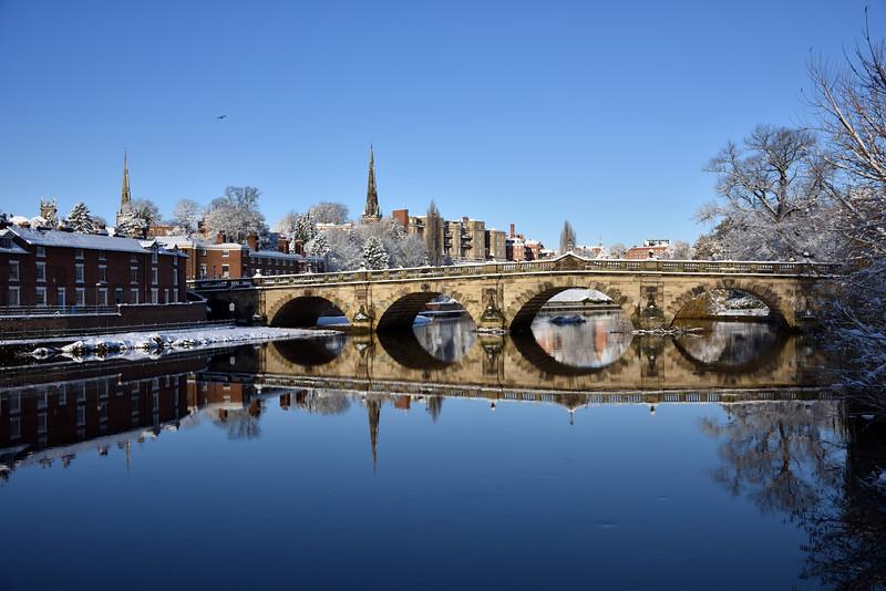 River Severn, English Bridge, Shrewsbury