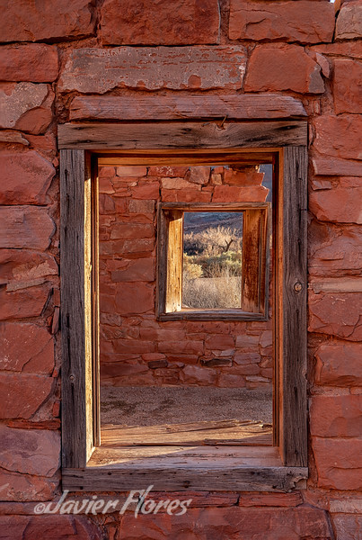 Window Frame Ruins at Lees Ferry