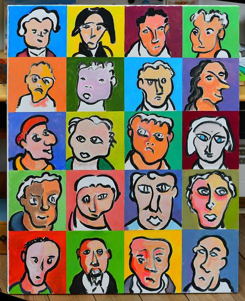 People II   acryl 100 x 80 cm