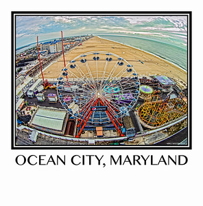 Bird's Eye View of Ocean City