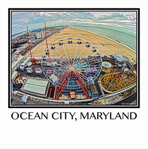 Bird's Eye View of Ocean City