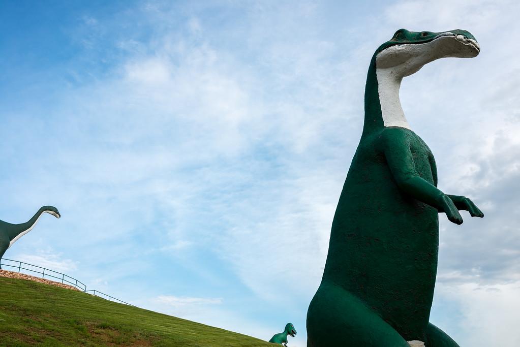 Dinosaur Park - Rapid City, South Dakota