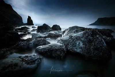 Talisker Beach Carbost Isle of Skye Scotland