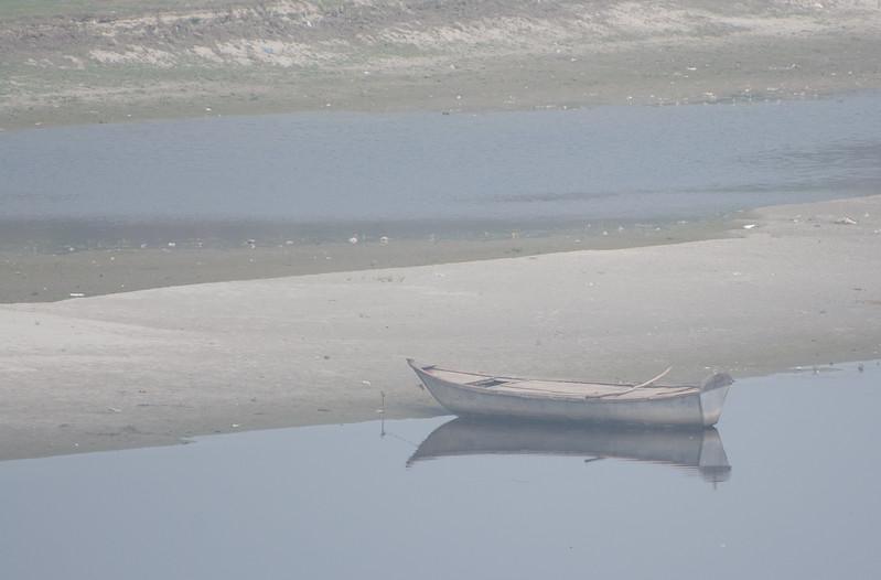 Boat Near Taj