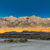 Sunrise At Owens Valley