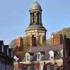 St. Chads church viewed over College Hill, Shrewsbury.