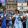 Morris Dancers in the Square, Shrewsbury.