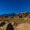 Moonlit Alabama Hills