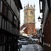 Fish Street and St. Julians church, Shrewsbury.