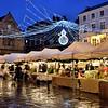 Shrewsbury Christmas market, the Square.