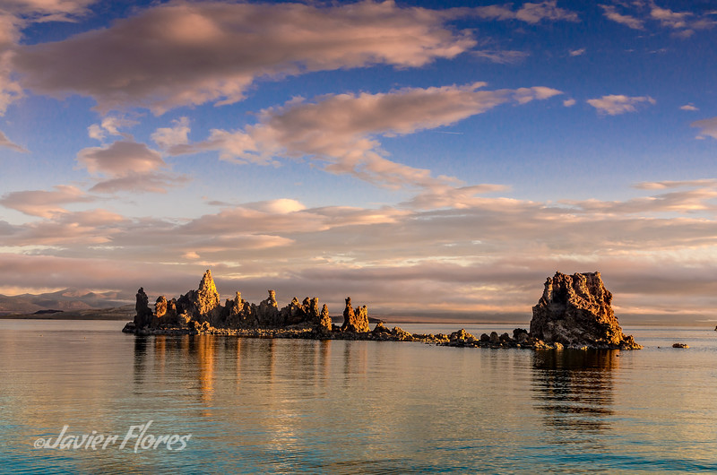 Cloudy Morning at Mono Lake