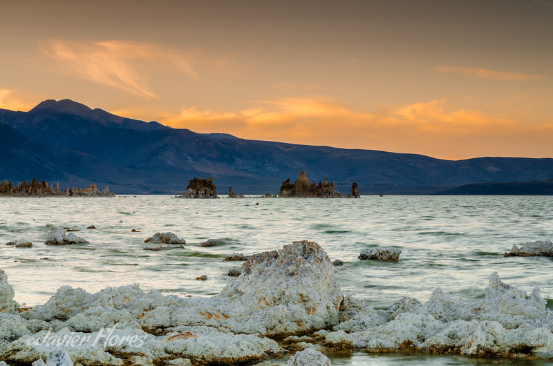Mono Lake Tufa View from Nav