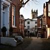St. Marys Court and St Alkmunds church, shrewsbury