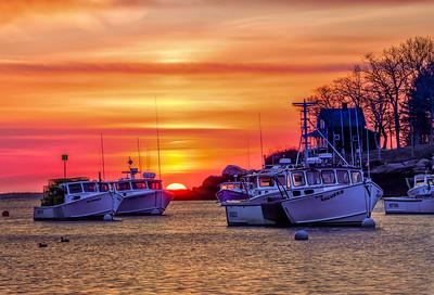 New Harbor Dawn