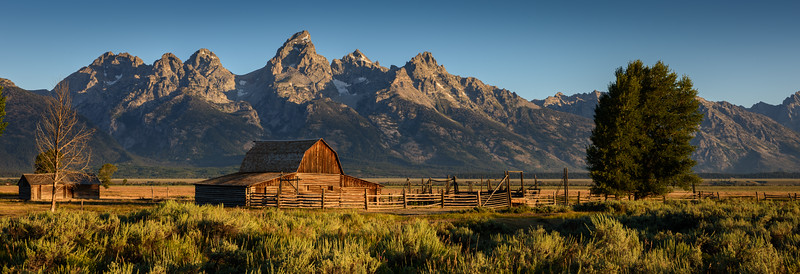Mormon Barn, Grand Tetons