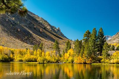 Intake Lake II Fall reflections