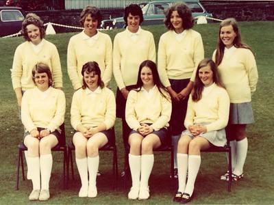 Scotish Girls Team 1971 - North Berwick GC