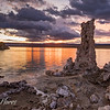 Mono Lake at Sunrise with Tufa formations