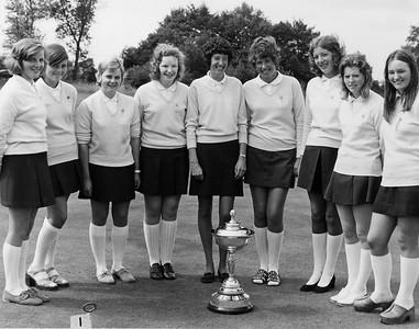 Scottish Girls Team 1972 Royal Norwich