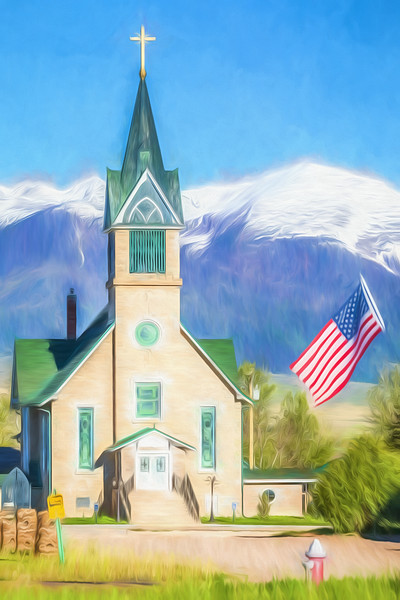 God and Country - Painting