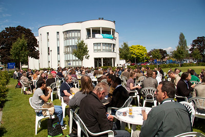 ISRR 2012, Delegate Lunch, University of Dundee