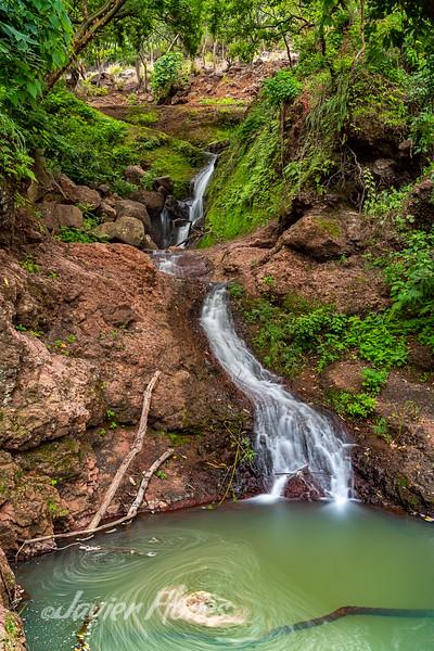 Waterfall Near Atotonilco El Alto Jalisco