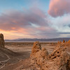 Sunset at Trona Pinnacles