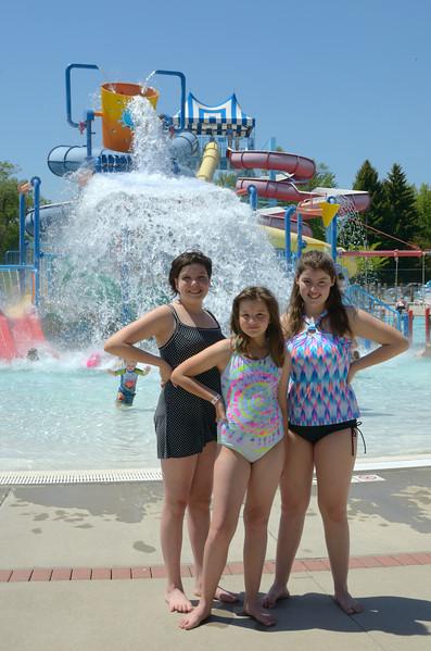 three girls at aberdeen aquatic center