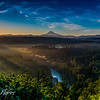 Mt. Hood and Sandy River