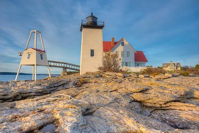 Hendricks Head Lighthouse - Southport, Maine
