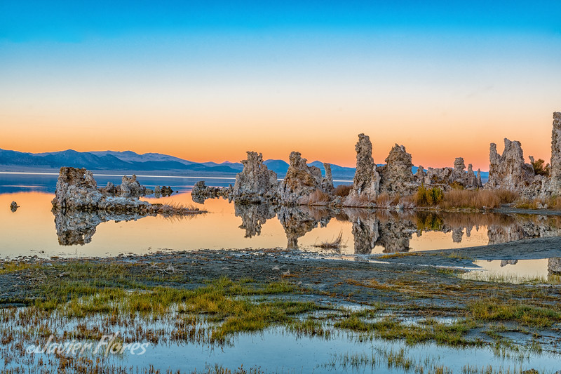 Colorful Sunrise at Mono Lake