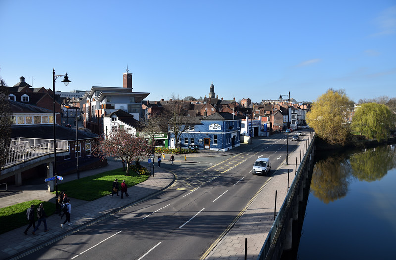 Smithfield Road Shrewsbury.