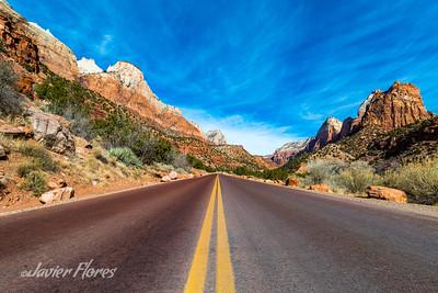 Zion National Park Road