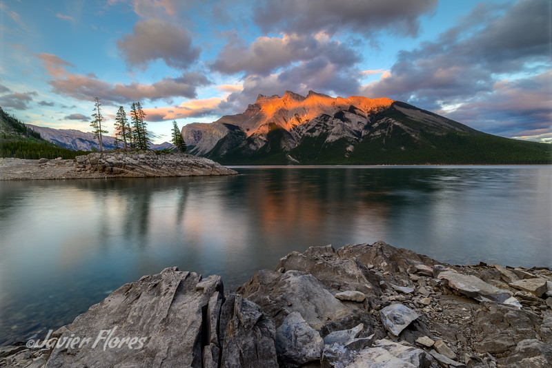 Canadian Rocky Mountain Sunset